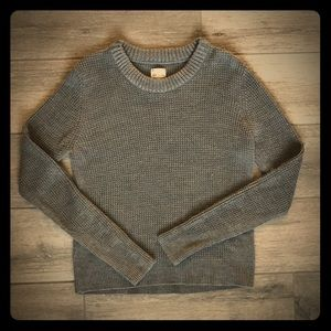 Women's Gray Converse Sweater